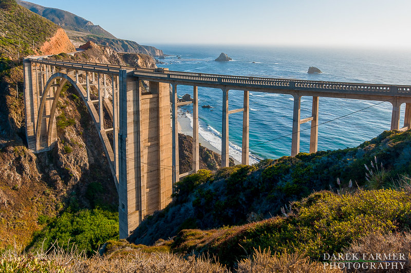 The Bixby Bridge in Big Sur is a California Landmark