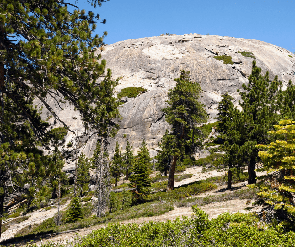 Sentinel Dome near Glacier Point
