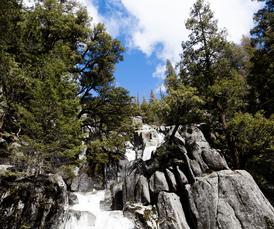 Chilnualna Cascades in Yosemite